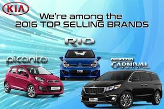 Kia Morning bán chạy nhất 2016