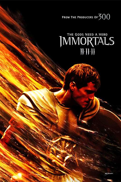 Poster de Theseus en Inmortals