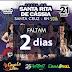 CONTAGEM REGRESSIVA: FALTAM APENAS 2 DIAS PARA GRANDE FESTA DE SANTA RITA 2016, EM SANTA CRUZ