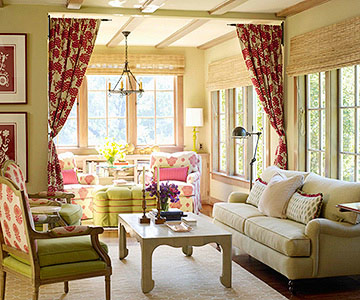 Modern Furniture: Cottage Living Room Decorating Ideas 2012