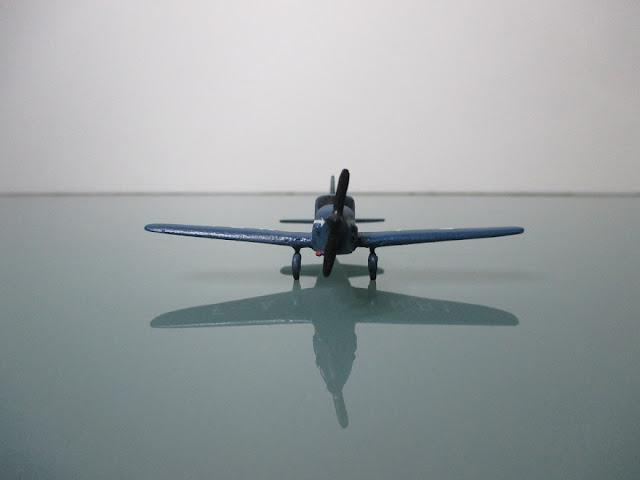 1/144 Caudron Simoun Air Bleu diecast aircraft