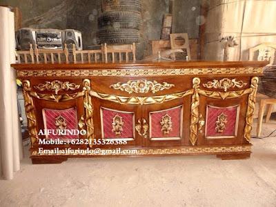 DRESSER Classic furniture Indonesia,DRESSER Antique Furniture Indonesia, DRESSER French Furniture Indonesia,Classic painted furniture Jepara code A302