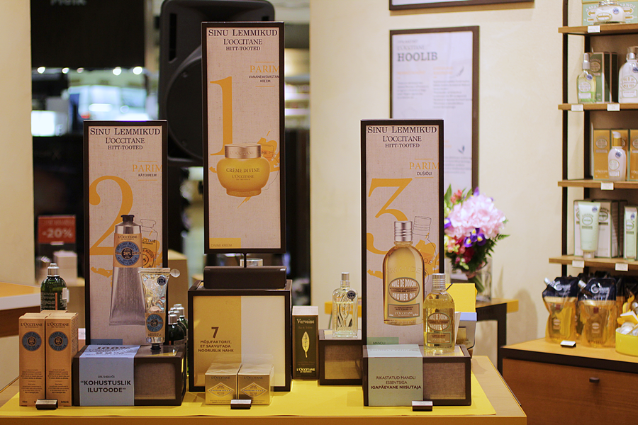 l`occitane top 3