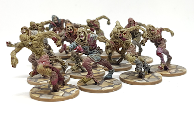 Zombicide Black Plague Painted Runners