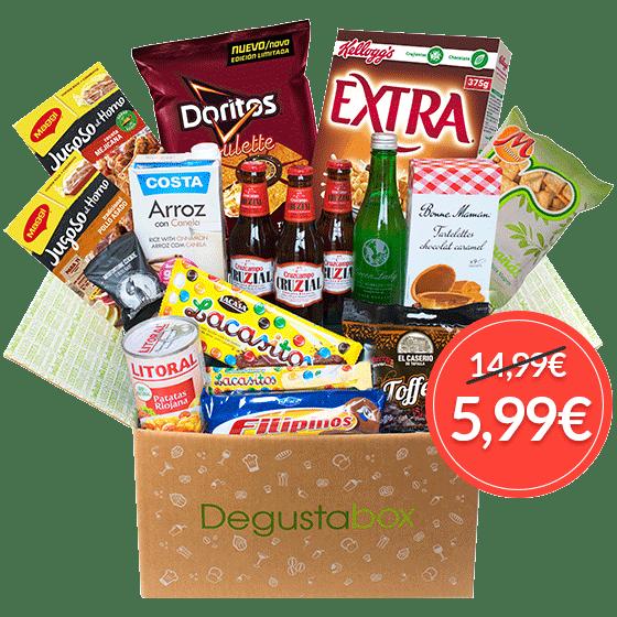 Ahorra y consigue tu Degustabox por 2´99 Euros gracias a Beruby