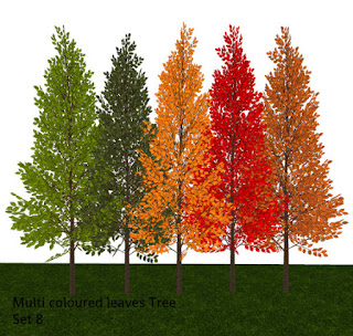 Some Colourful Trees