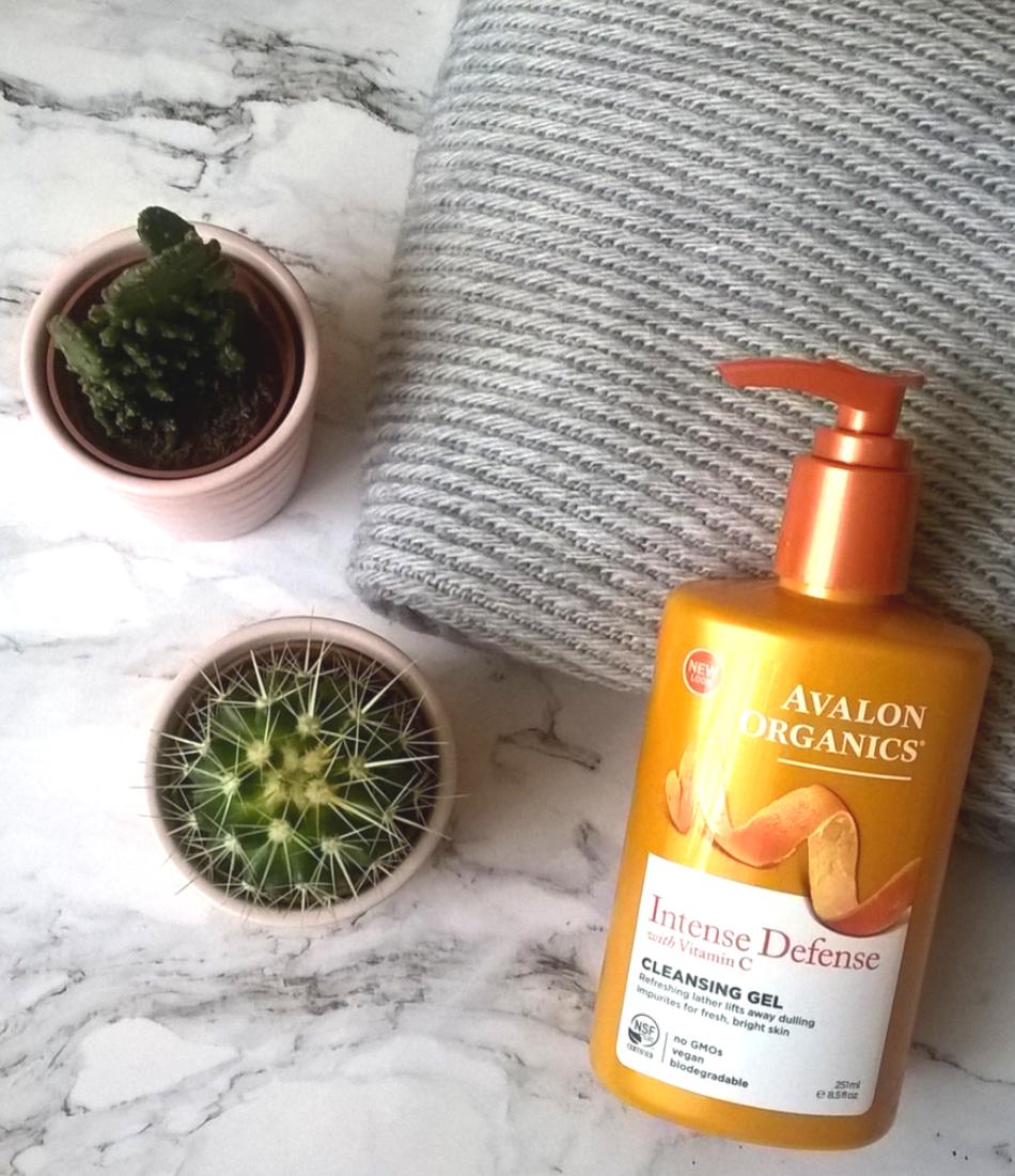 Avalon Organics, żel do twarzy z witaminą C
