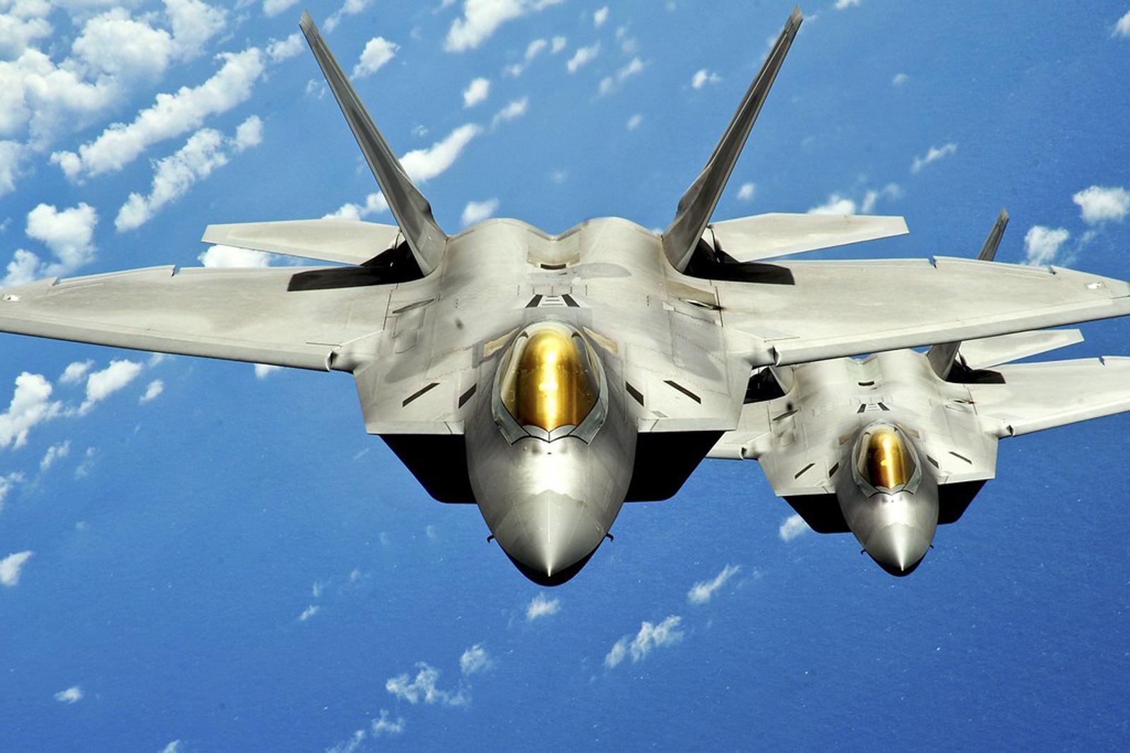F 22 Raptor Wallpaper: F-22 Raptor Jet Fighter HD Wallpapers