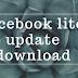 facebook lite update download