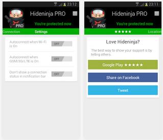 Download VPN Hideninja Pro v1 3 Apk | Download APK Center