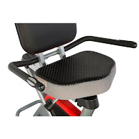 Ironman H-Class 410's seat, with Air Soft technology
