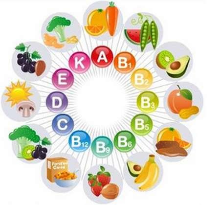 Vitamines indispensables au bon fonctionnement de l'organisme