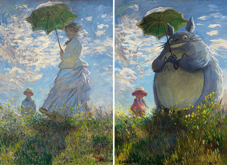 Artist Turns Classical Paintings Into Breathtaking Geek Art