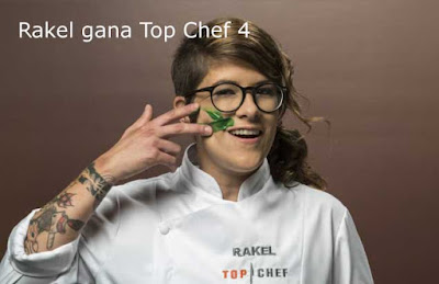Rakel ganadora de Top Chef 4