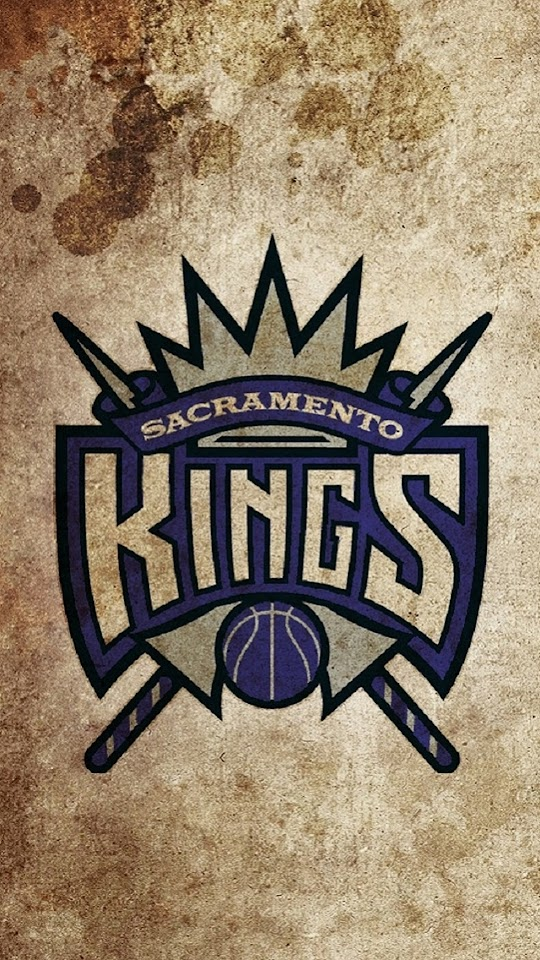 Vintage Sacramento Kings Logo   Galaxy Note HD Wallpaper