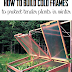 How to build cold frames to protect tender plants in winter #DIY