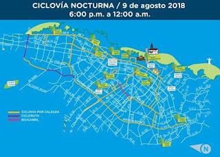 CICLOVIA NOCTURNA 2018