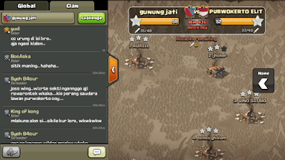 Ketemu Wong Ngapak Di Game Clash Of Clans