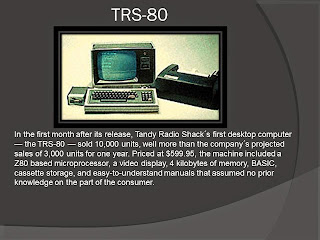TANDY RADIO SHACK COMPUTER