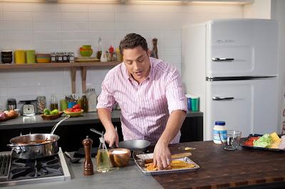 Cozinheiro Jeff Mauro em O Rei do Sanduíche - Divulgação