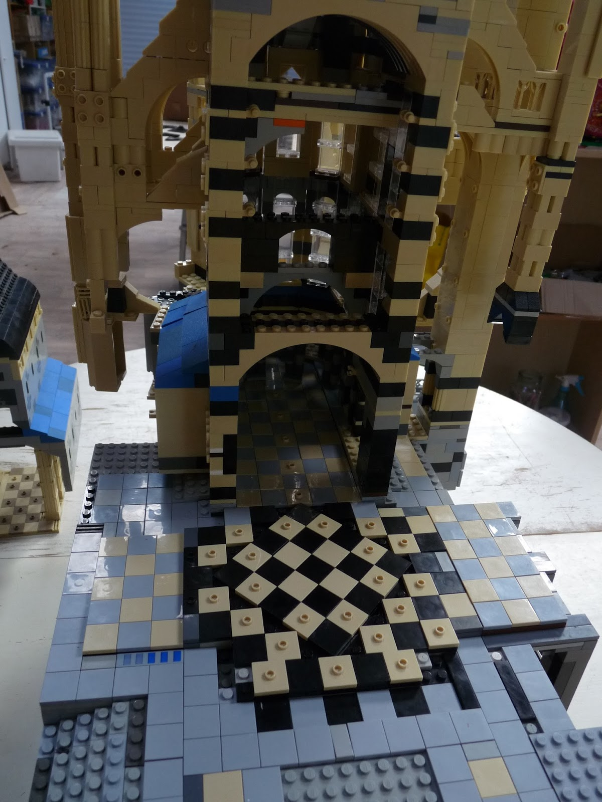 Le Mont SaintMichel En Lego Le Carrelage Intérieur - Carrelage j