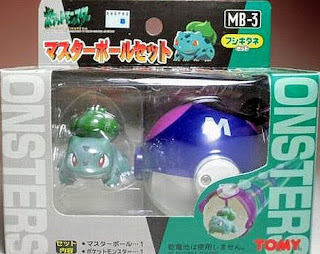 Bulbasaur figure Tomy Master Ball Set MB-1