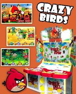 Crazy Birds wallpapers, screenshots, images, photos, cover, poster