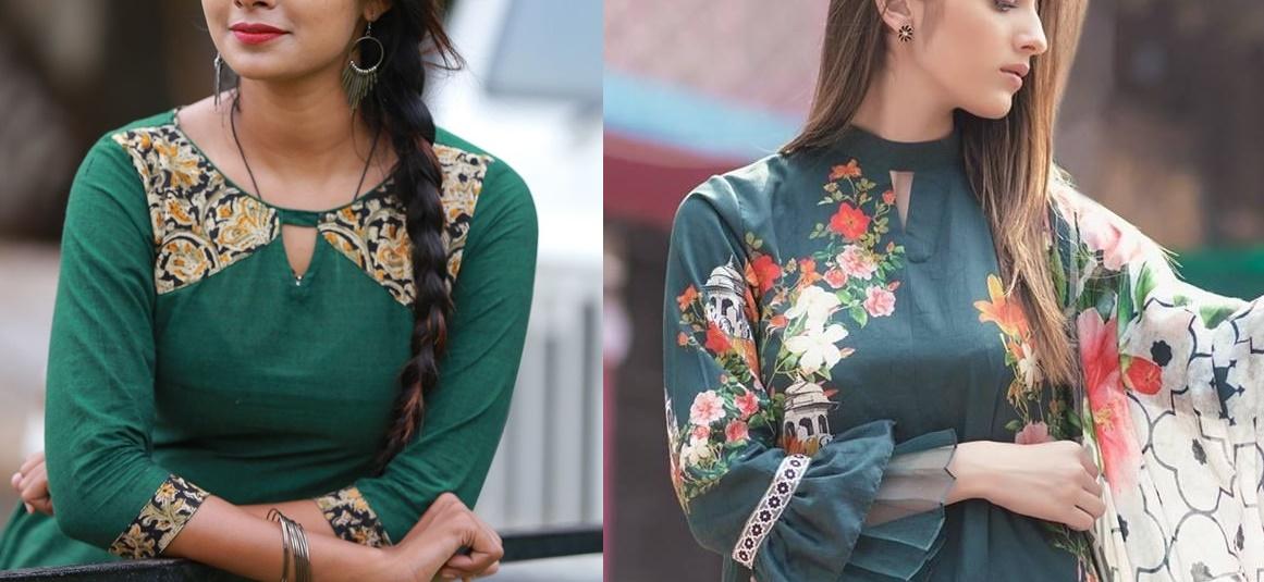 Punjabi Ladies Suits Neck Designs 2019