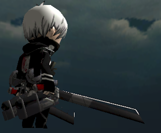 Dark Gear Blade Skin AOTTG - Black Blade Attack On Titan Tribute Game