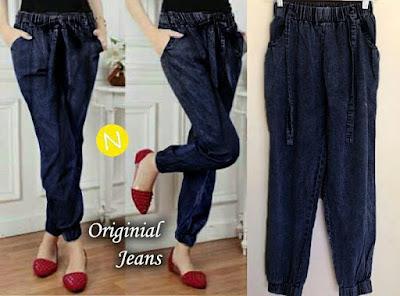 Jual Celana Panjang Jeans Joger Pants - 12451
