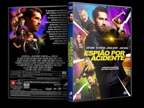 Capa DVD Espião Por Acidente [Custom]