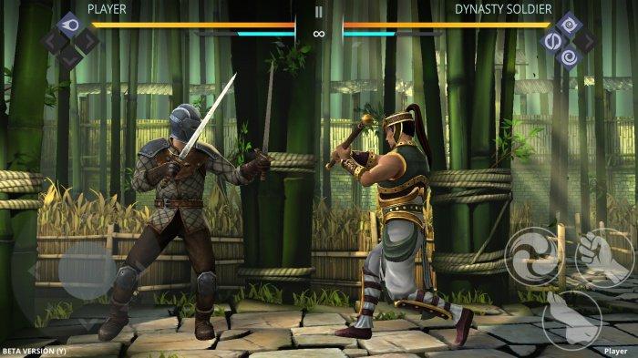 В новой части игры вы будете управлять уже не тенями, а полноценными 3d бойцами и дельной проработкой мельчайших деталей.