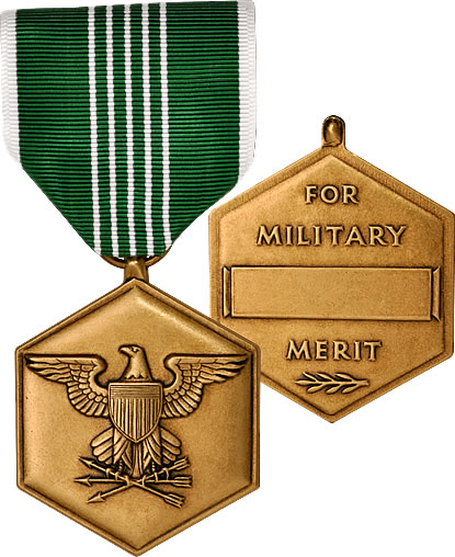 writing an army commendation medal