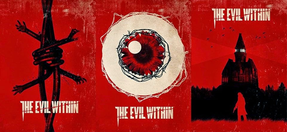 The Evil Within (3 studi per la cover interna)