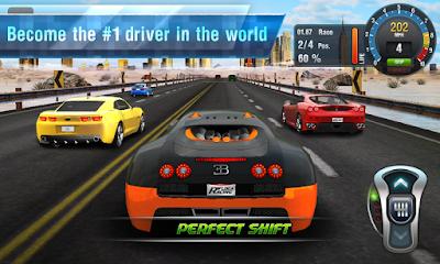 تحميل لعبة السيارات المدفوعة Drag Racing 3D  مجاناً على الاندرويد