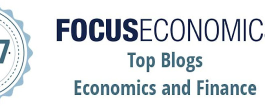 We got mentioned again as one of the top economics' blogs