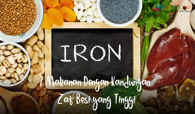 7 Makanan Dengan Kandungan Zat Besi yang Tinggi