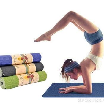 sử dụng thảm tập yoga