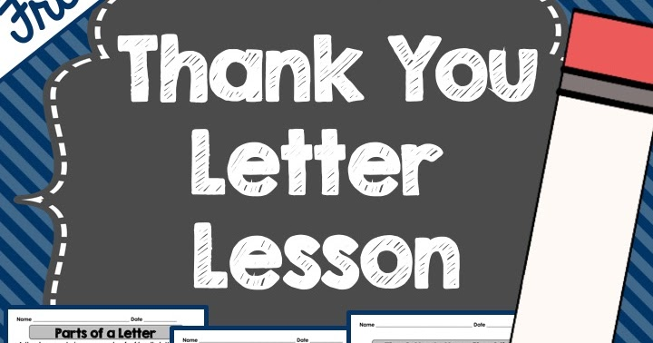 Thank you letter lesson a classroom for all seasons expocarfo Choice Image