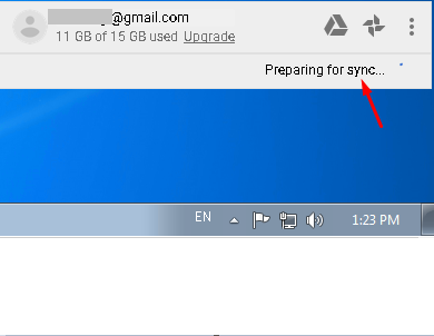 google-drive-sync-failed-issue-red-cross-5