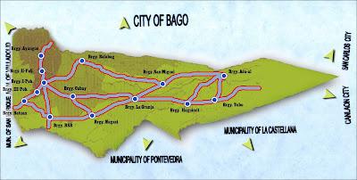 La Carlota City Map