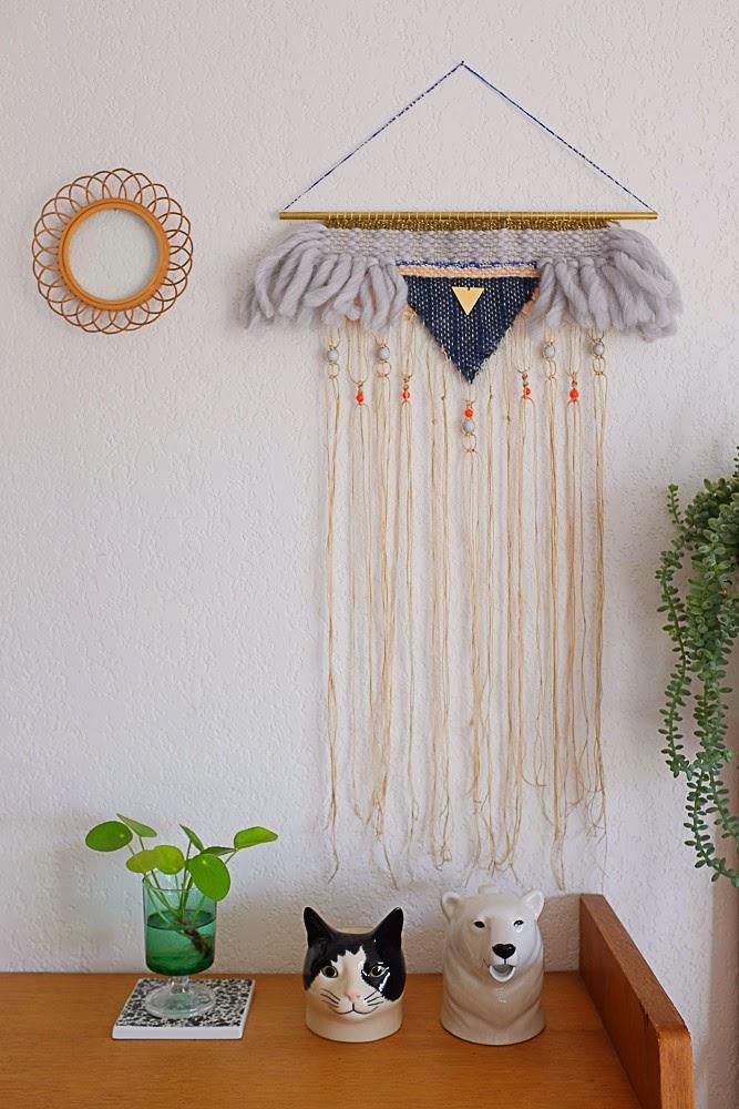 caro inspiration tissages ou tentures murales. Black Bedroom Furniture Sets. Home Design Ideas