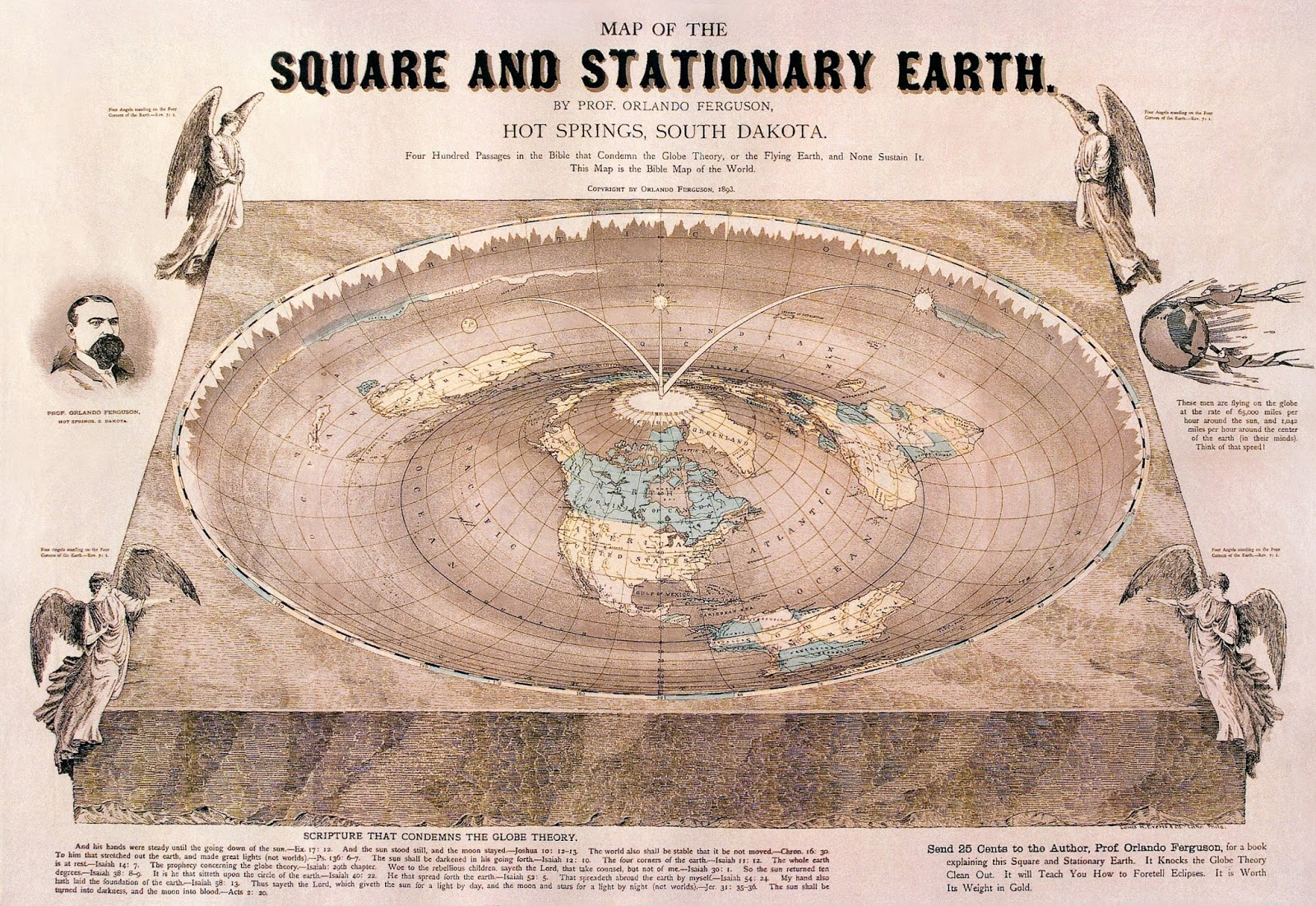 Philip Stallings: The Biblical Flat Earth: The Teaching From