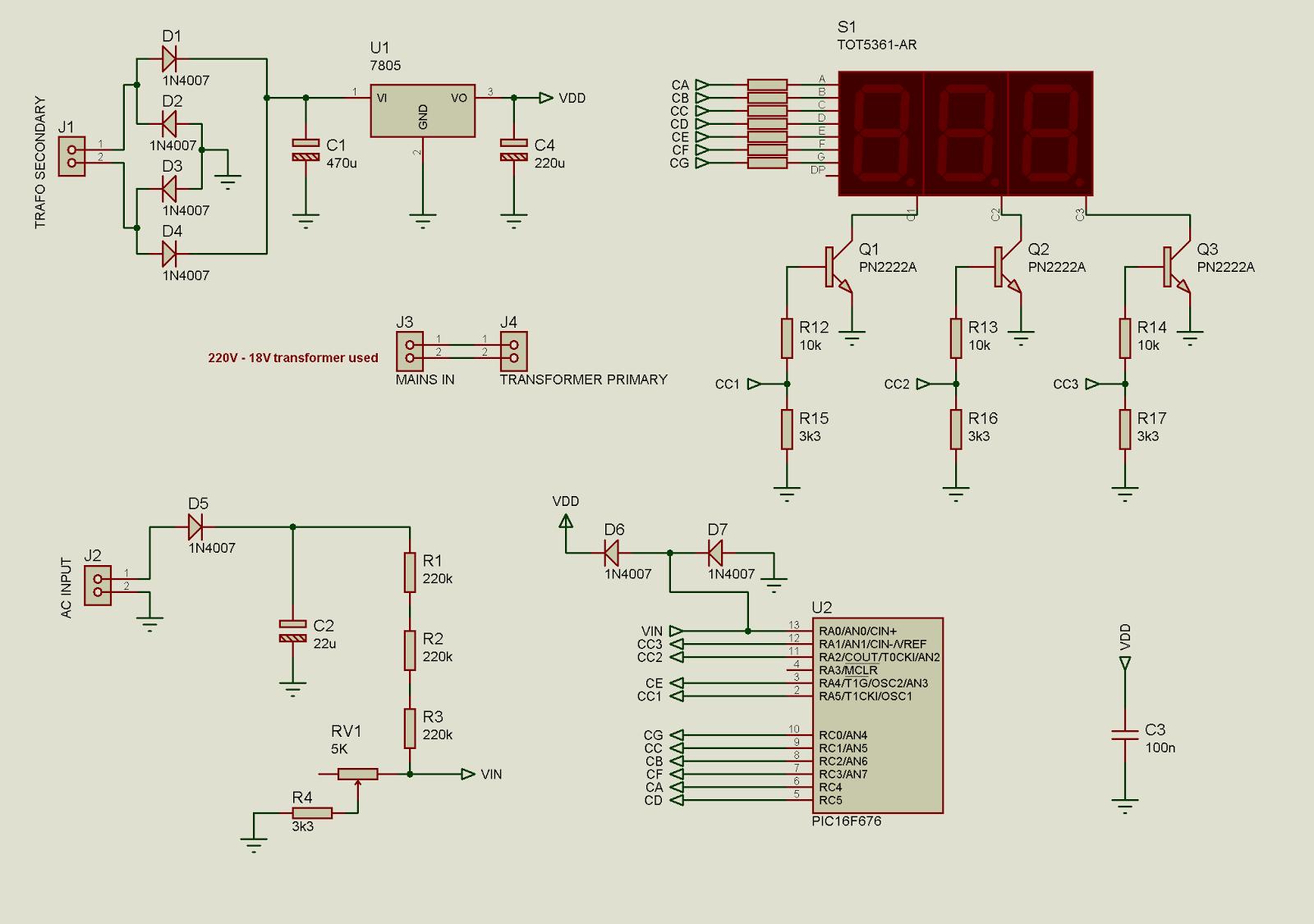 digital voltmeter wiring diagram two speed motor ac  readingrat