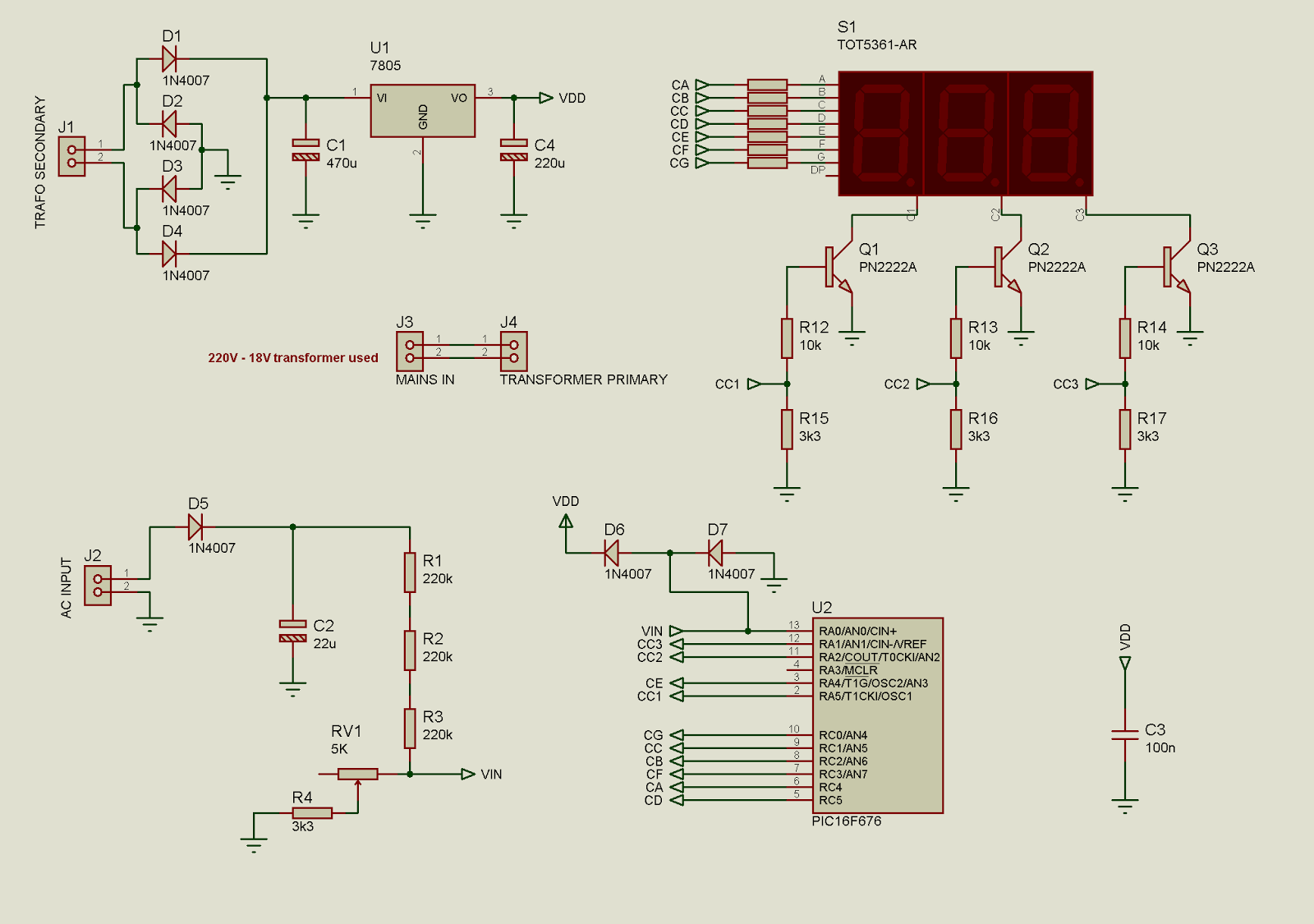 Fig 25 Voltmeter Circuit Diagram Auto Electrical Wiring Voltage Divider Tradeoficcom Tahmid U0026 39 S Blog Simple Ac