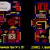 مخطط وصفي عمارة سكنية بطابقين اوتوكاد dwg