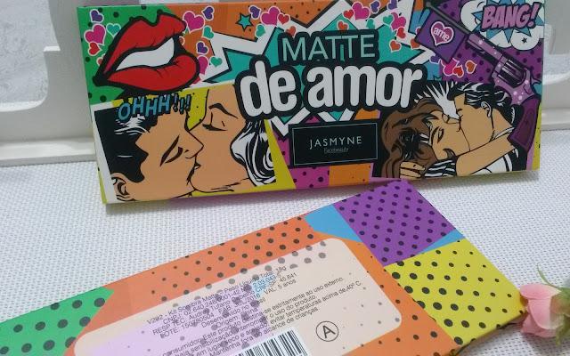 PALETA JASMYNE MATTE DE AMOR