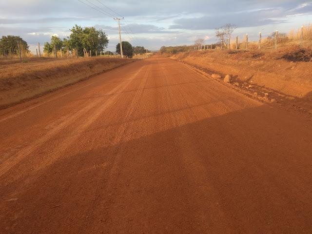 Angical: obras de recuperação das estradas vicinais da Reforma Agrária estão avançadas