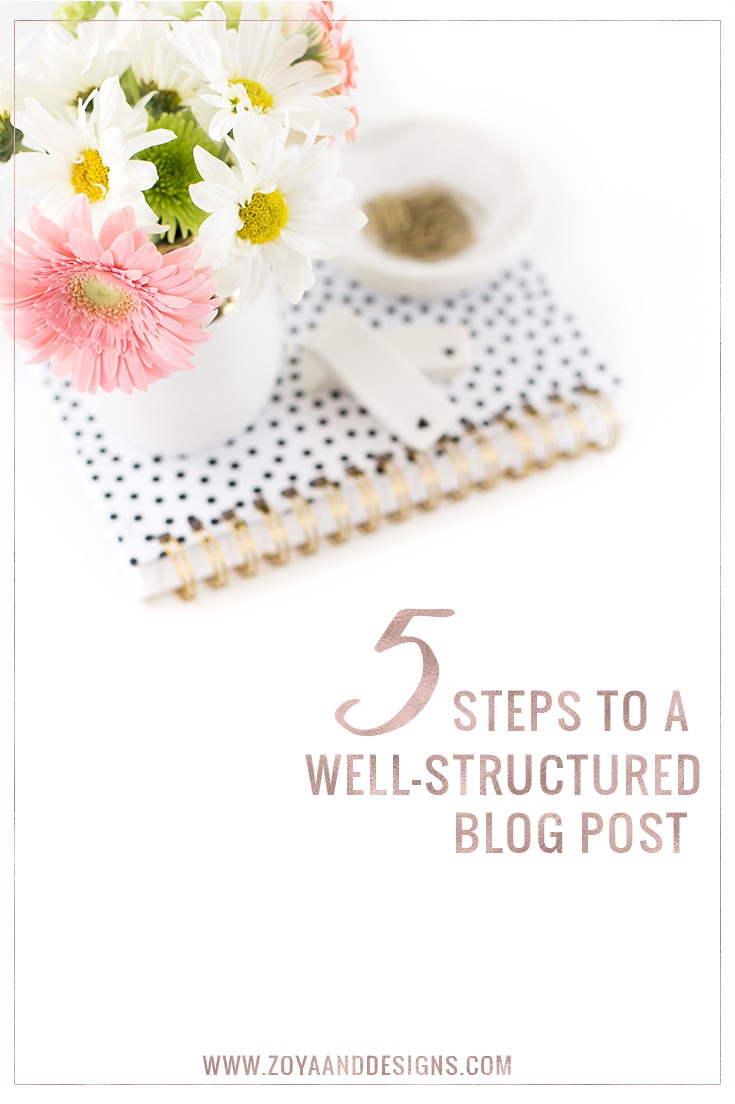 well structured blog post