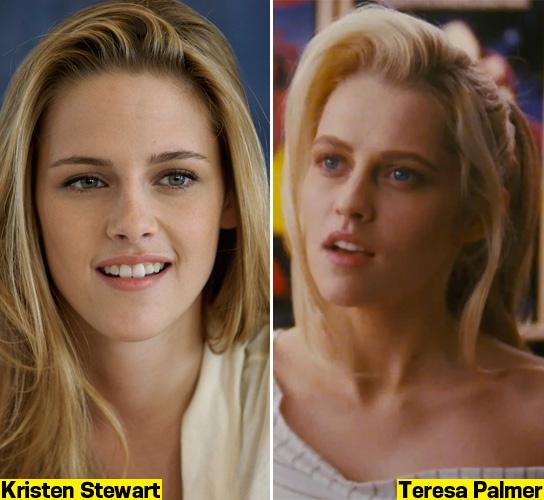 Teresa Palmer and Kristen Stewart - twins?? look a like